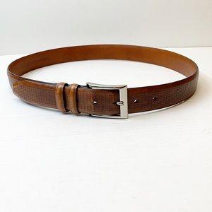 Johnson & Murphy leather belt size 36
